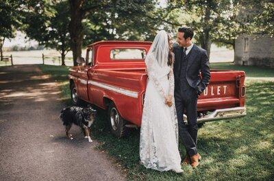 El matrimonio de ensueño de Whitney y Carlos, un boda llena de originalidad y amor