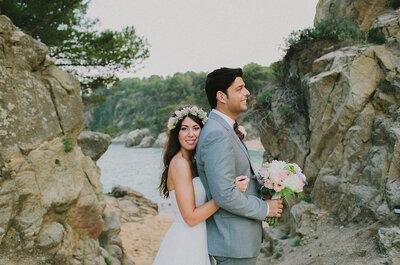 Un encuentro casual que acabó en boda: el gran día de Jordina y Omar