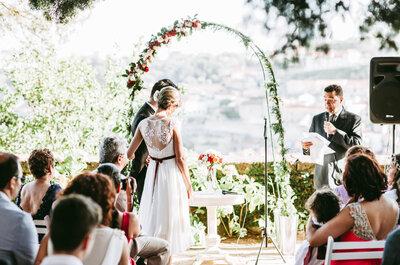 30 espaços para celebrar o seu casamento que a vão deixar sem palavras
