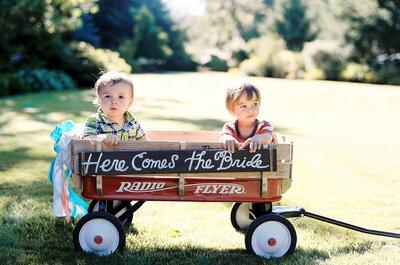 Una boda familiar: Cómo involucrar a los hijos en el gran día