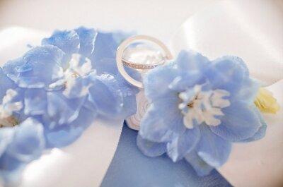 Как организовать свадьбу в синих оттенках? Подборка для вдохновения!
