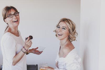 Como conseguir a maquilhagem de noiva perfeita, se vai casar  nos meses de Verão?