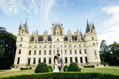 ... le Château de Challain pour un mariage féerique près de Nantes