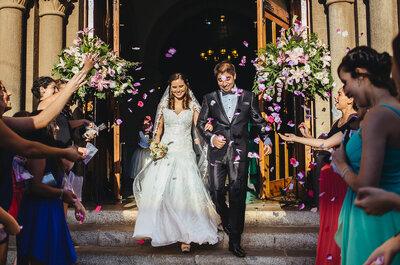 El matrimonio de Pablo y Alejandra, una felicidad que llegó ¡hasta el cielo!