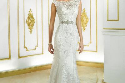 Vestidos de novia con transparencias 2015, consejos para llevarlas en tu gran día