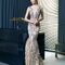 Hochzeitsgastkleid aus der Festmodenkollektion 2015 von Rosa Clará (7T310)