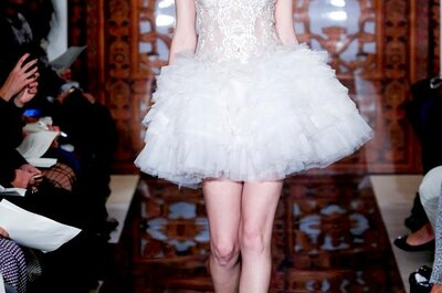 Vestidos de novia 2013 con encaje