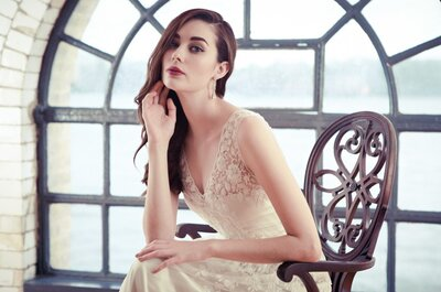 Nomadic Beauty: Catherine Deane 2015 Bridal Collection