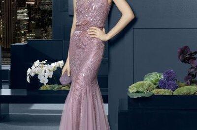 Vestidos de fiesta con mucho glamour en la colección de Rosa Clará 2015