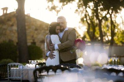 Laura + Mike : Leur amour gravé dans la peau et leur mariage rock'n'roll !
