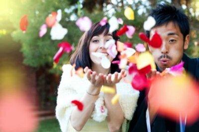 Свадьба в Испании с японскими деталями