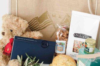 Presentes de boas vindas no seu casamento: surpreenda os seus convidados com welcome bags!