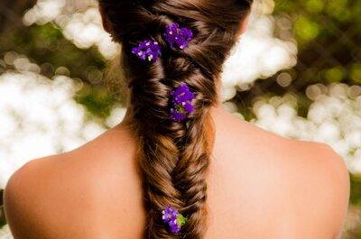 Penteados de noiva com tranças 2016: estão sempre em alta!