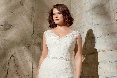 De allermooiste plus size bruidsjurken van 2015
