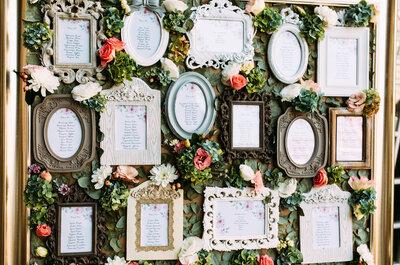 I 10 tableau de mariage più belli per il 2017