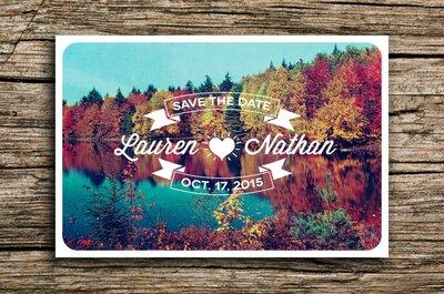 Una boda preciosa en otoño: Estas imágenes te darán la inspiración que necesitas para un día sensacional