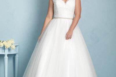 Bruidsjurken Allure Bridals 2015: elegantie en glamour