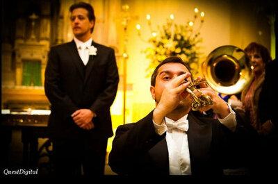 ¿Cómo escoger la música de tu boda?