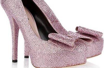 Tendência para noivas: sapatos brilhantes e com glitter