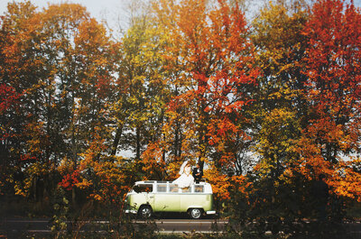 Autumn Wedding? How To Look Stylish While Being Prepared for Unpredictable Weather