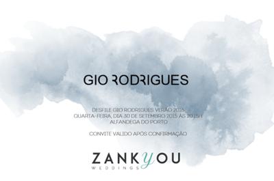 3 passos para conseguir o seu convite exclusivo para o desfile Atelier Gio Rodrigues 2016