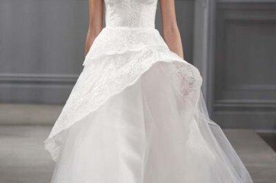 Colección completa de vestidos de novia de Monique Lhuillier primavera 2014