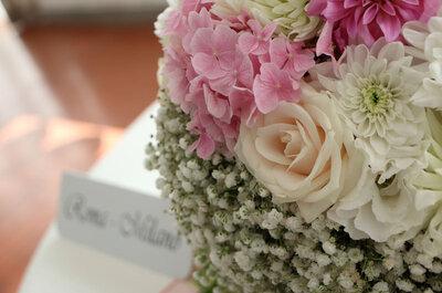 Floreventi: esperienza, professionalità e passione al servizio del tuo matrimonio