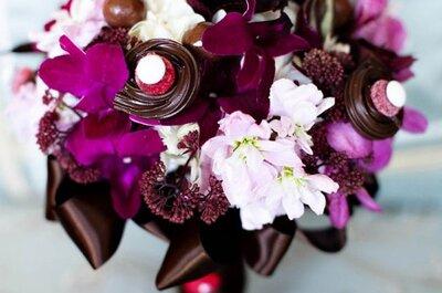Dale energía a tu boda: ¡usá el color violeta!