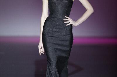 Hannibal Laguna Otoño Invierno 2015/16: elegancia y glamour