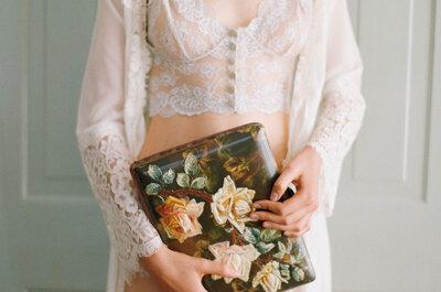 Seksowna bielizna na noc poślubna z kolekcji Claire Pettibone