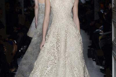 Vestidos de Valentino para las novias del verano de 2013