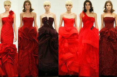 Heiraten in der Hochzeitsfarbe Rot