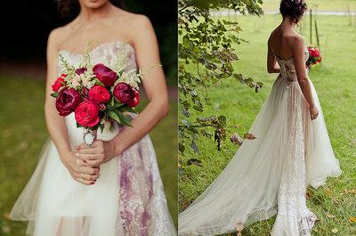 Tonos rojos: decora tu matrimonio con el color del amor