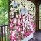 Jardim vertical para casamento.