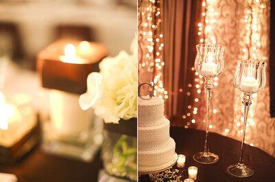 12 ponqués de boda para decorar el salón de la fiesta de matrimonio