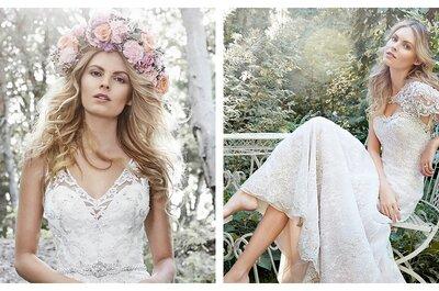 Odkryj najpiękniejsze projekty sukien ślubnych w najnowszej kolekcji Maggie Sottero 2015