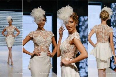 Vestidos de noiva curtos que farão seu sonho, realidade em 2015!