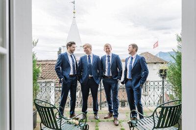 Exklusives Event für Bräutigame im Luzerner Château Gütsch – Die Gentleman's Night