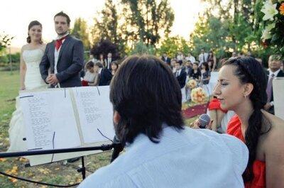 La música: Un acompañamiento importante para la ceremonia