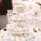Decoración en color blanco para boda - Foto Gigi's Cupcakes