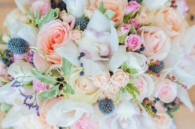 7 ideias para um buquê de noiva único e espetacular