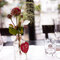 Blumen für die Tischdeko