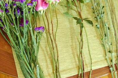 Cómo hacer un ramo de novia redondo y compacto