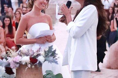 Dulceida y Alba Paul celebran su boda junto al mar: ¡descubre todos los detalles!