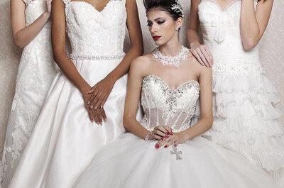Como combinar o DECOTE do seu vestido de noiva com o seu PENTEADO!
