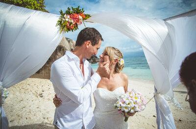 Schön und strahlend auf der Hochzeit: so essen Sie sich als Braut gesund