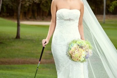 Ideas para bodas en exteriores: celebra tu enlace en un club de golf