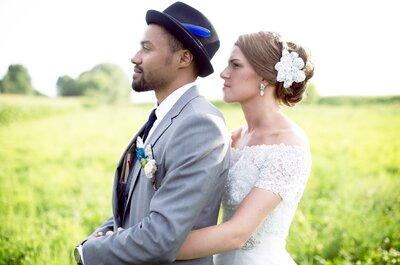 Le mariage de Léa et Marc : un joli voyage entre créativité et bonne humeur!