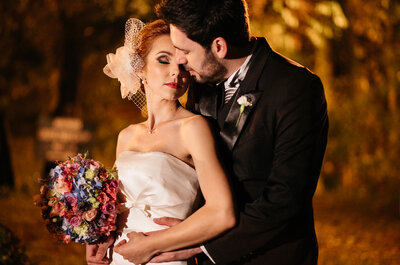 Sabrina e Paulo: casamento vintage charmosíssimo no Paraná!