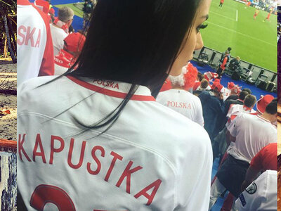 Piękna partnerka Bartosza Kapustki! Przepiękna!